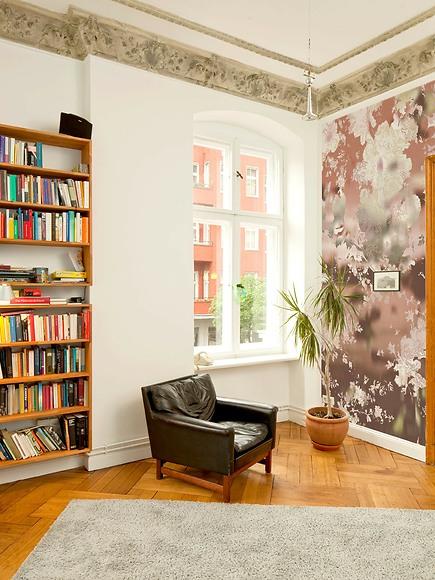 Bildtapete Van Rosa 02 - Van Ros 02 im Wohnzimmer