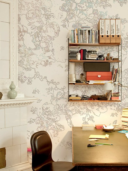 Bildtapete Le Blanc 02 - Le Blanc 02 im Arbeitszimmer