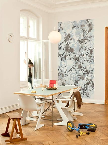 Fototapete Colette - Colette im Wohnzimmer