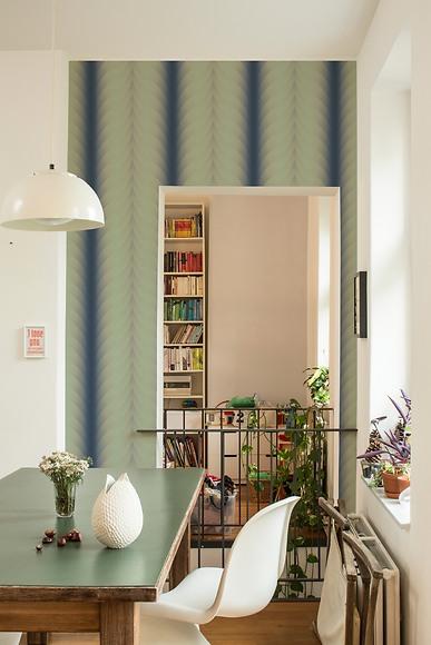 Mustertapete Pilar 03 - Pilar 03 im Wohnzimmer