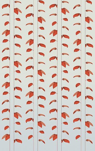 Mustertapete Plantas 03 - Gesamtansicht (4 Bahnen)