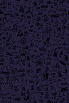25hours Tapete 25hours Farbwelt Violett