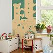 Kindertapete Burg - Burg im Kinderzimmer