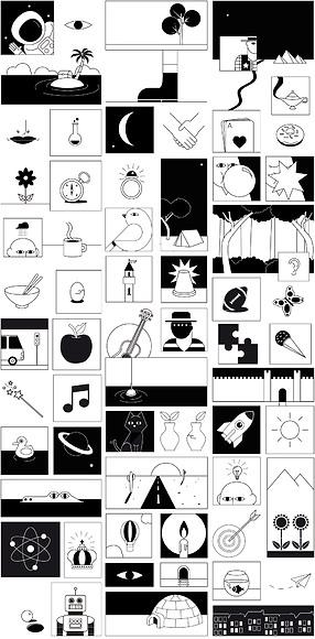 Kindertapete Comic 01 - Gesamtansicht