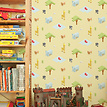Kindertapete Savanne - Savanne im Kinderzimmer