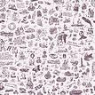 25hours Tapete 25hours Farbwelt Lila - Gesamtansicht