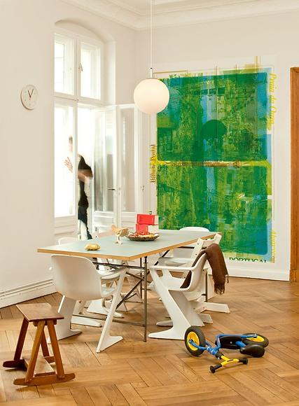Bildtapete Pedro 01 - Pedro im Wohnzimmer