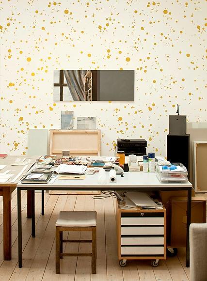 Bildtapete Gloria - Gloria im Studio