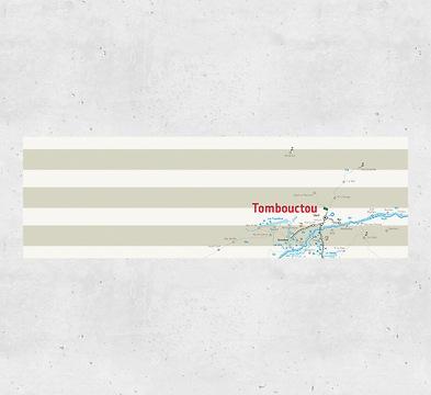 Karte Timbuktu