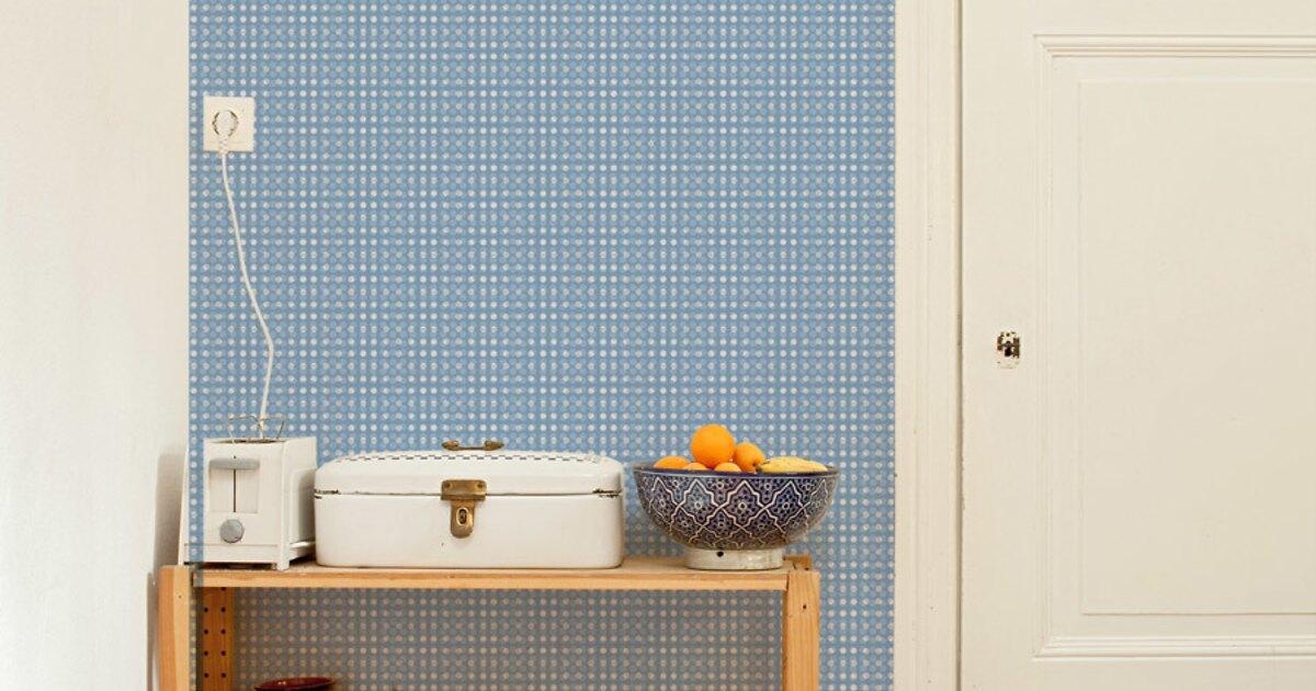 mustertapete marie 01 vliestapeten designtapeten bei extratapete. Black Bedroom Furniture Sets. Home Design Ideas