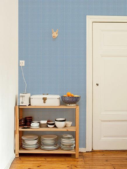 Mustertapete Marie 01 - Marie 01 in der Küche