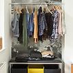 Bildtapete Van Grey 01 - Van Grey in der Garderobe