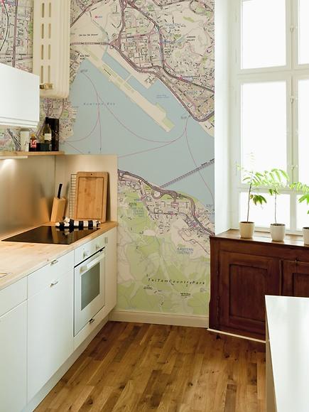 Stadtplan Hong Kong - Hong Kong in der Küche
