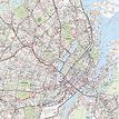 Stadtplan Kopenhagen - Gesamtansicht