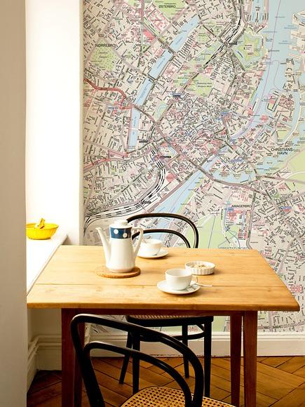 Stadtplan Kopenhagen - Kopenhagen in der Küche