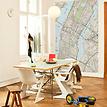 Stadtplan New York - New Your im Wohnzimmer