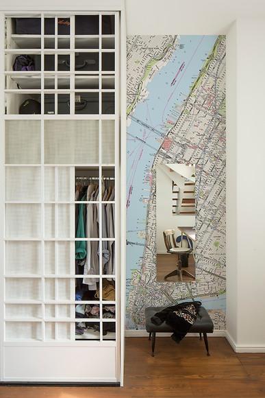 Stadtplan New York - New York im Schlafzimmer
