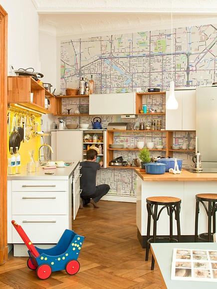 Stadtplan Peking - Peking in der Küche