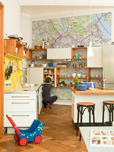 Stadtplan Stockholm - Stockholm in der Küche