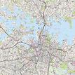 Stadtplan Sydney - Gesamtansicht