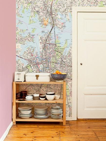 Stadtplan Sydney - Sydney in der Küche