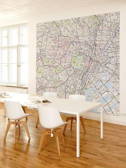 Stadtplan Tokio - Tokio im Arbeitszimmer