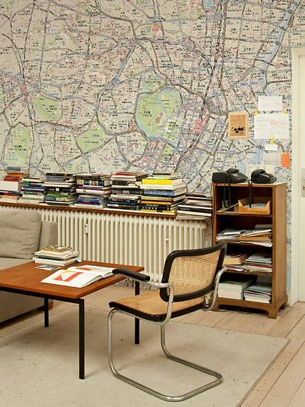 Stadtplan Tokio - Tokio im Büro
