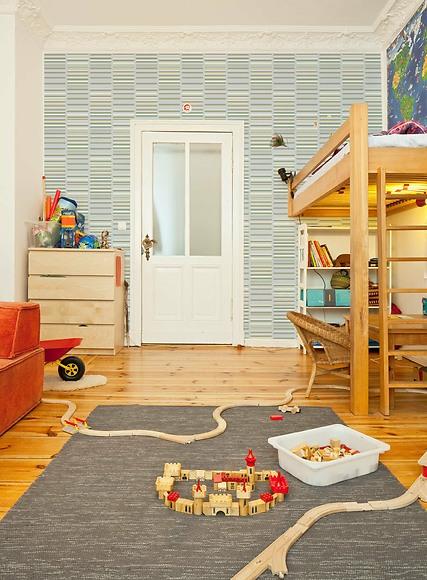 Mustertapete Henry 01 - Henry 01 im Kinderzimmer