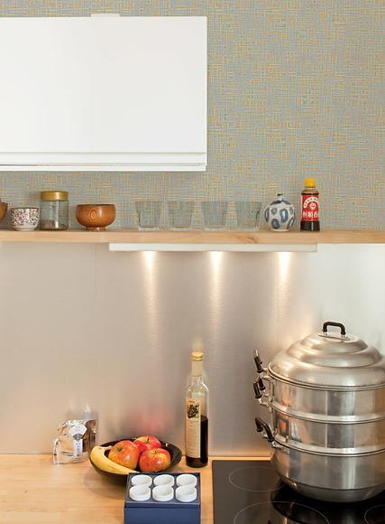 Mustertapete Robo 02 - Robo 02 in der Küche