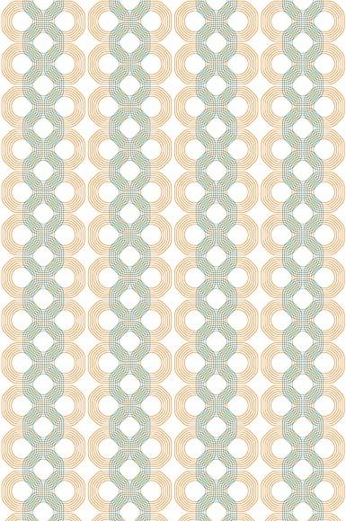 Mustertapete Lui 03 - Gesamtansicht (4 Bahnen)