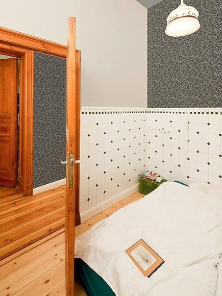 Mustertapete Jo 01 - Jo 01 im Schlafzimmer