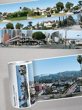 Panorama Borte Los Angeles