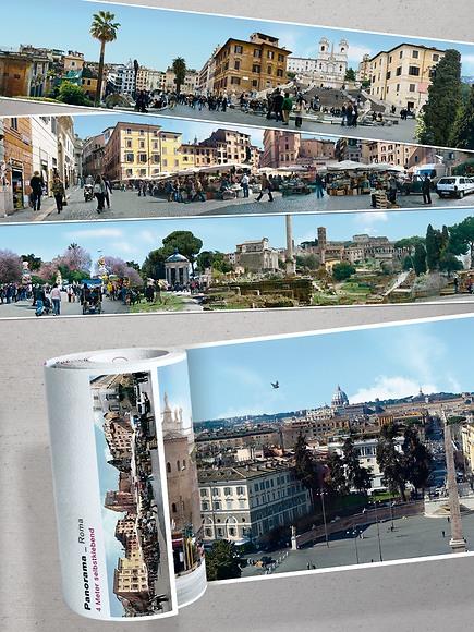 Panorama Borte Rom - Ausschnitte