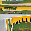 Panorama Borte Toskana - Ausschnitte