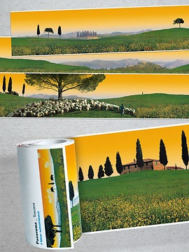 Panorama Borte Toskana