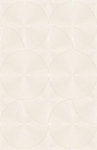 Mustertapete Kreise 02 - Gesamtansicht (4 Bahnen)