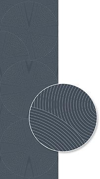 Mustertapete Kreise 03