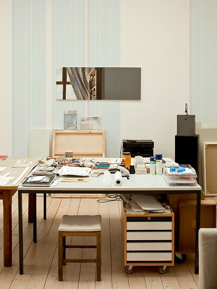 Mustertapete Linien 01 - Linien 01 im Studio
