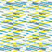 Mustertapete Diagonalen 01 - Gesamtansicht (4 Bahnen)