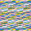 Mustertapete Diagonalen 03 - Gesamtansicht (4 Bahnen)
