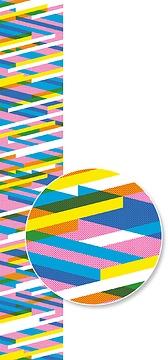 Mustertapete Diagonalen 03