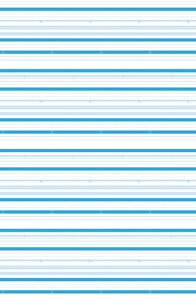 Mustertapete Streifen 03 - Gesamtansicht (4 Bahnen)
