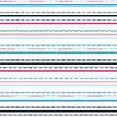 Mustertapete Streifen 04 - Gesamtansicht (4 Bahnen)